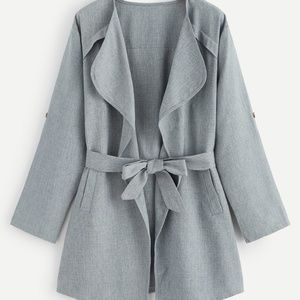 Jackets & Blazers - Belted Coat
